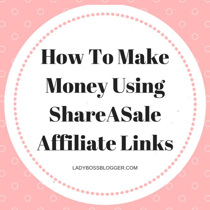 Come fare soldi usando i link di affiliazione ShareASale